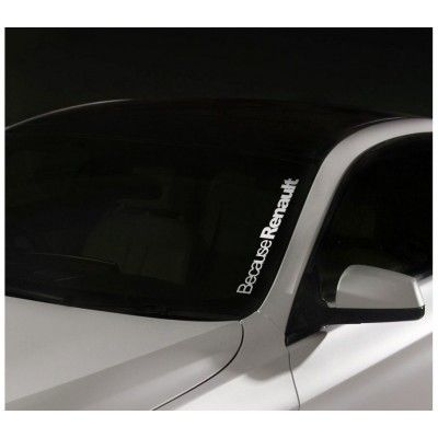 Sticker Parbriz Renault