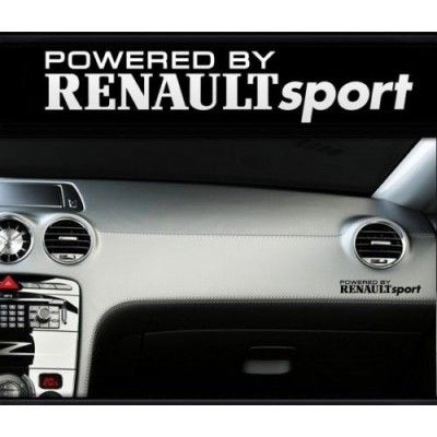 Sticker bord RENAULT sport
