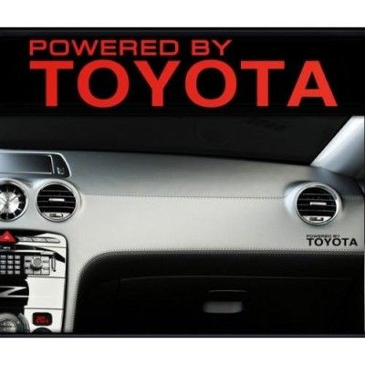 Sticker bord TOYOTA