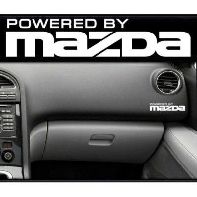 Sticker bord MAZDA
