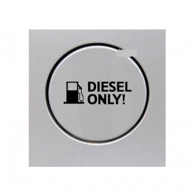 Sticker auto capac rezervor Diesel Only