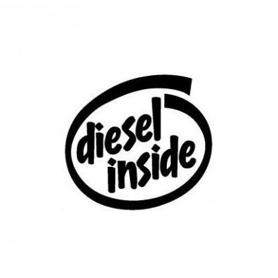 Sticker auto capac rezervor Diesel Inside