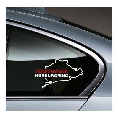 Sticker auto geam Volkswagen