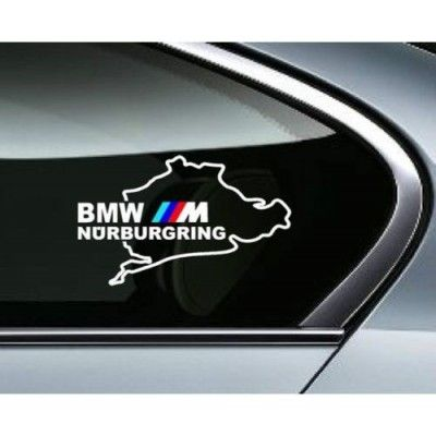 Sticker auto geam BMW