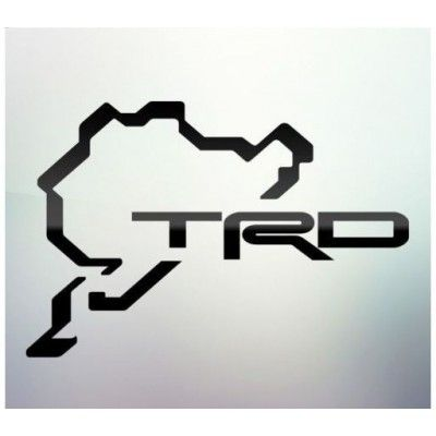 Sticker auto geam TRD