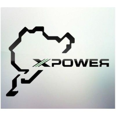 Sticker auto geam X Power