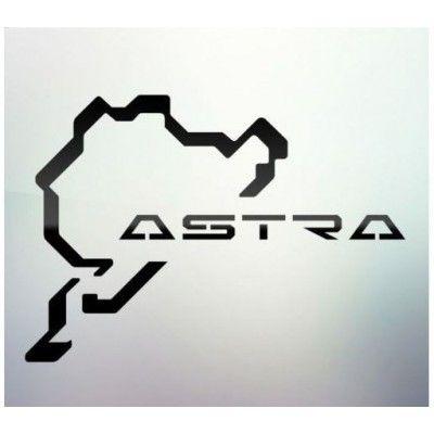 Sticker auto geam Astra