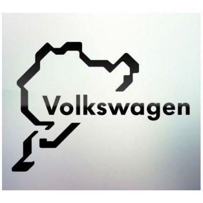 Sticker auto geam Volkswagen (v2)