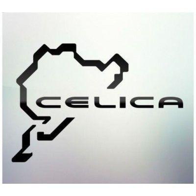 Sticker auto geam Celica