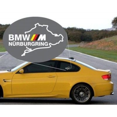 Sticker auto geam BMW M