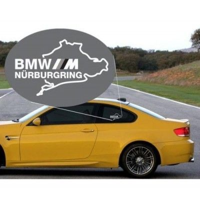 Sticker auto geam BMW M (v2)
