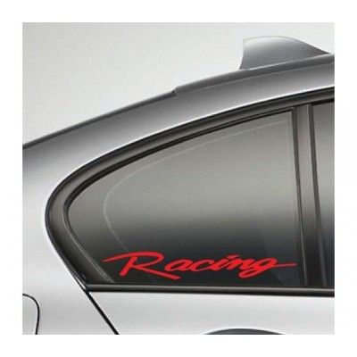 Sticker auto geam Racing