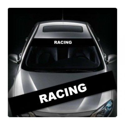 Sticker parasolar Racing