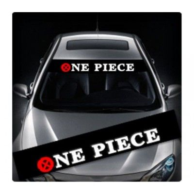 Sticker parasolar auto ONE PIECE