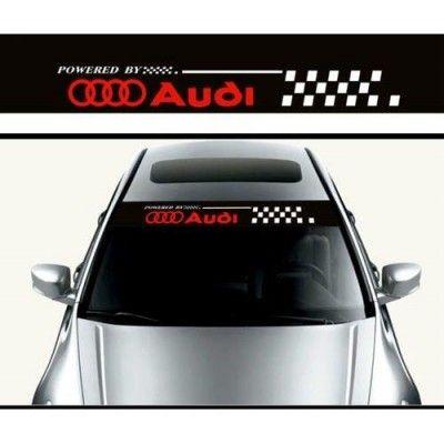 Sticker parasolar auto Audi Flag