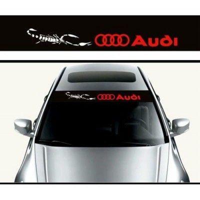 Sticker parasolar auto Audi