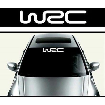 Sticker parasolar auto WRC