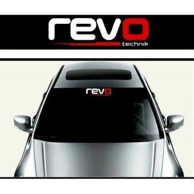 Sticker parasolar auto REVO