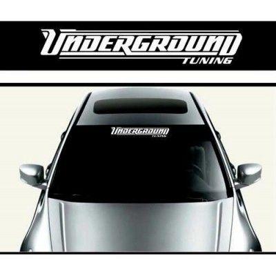 Sticker parasolar auto Underground (v2)