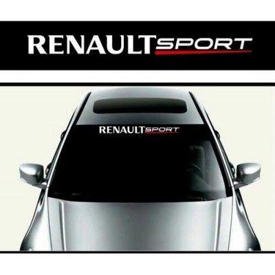 Sticker parasolar auto Renault Sport