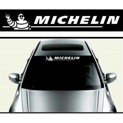 Sticker parasolar auto MICHELIN