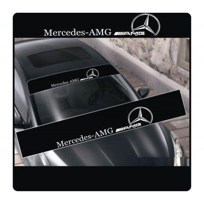 Sticker parasolar auto AMG