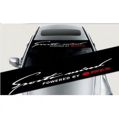 Sticker parasolar auto Sports Mind Ford