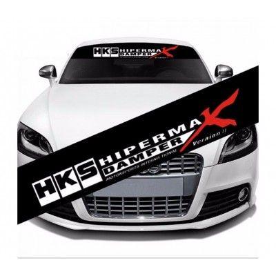 Sticker parasolar auto HKS