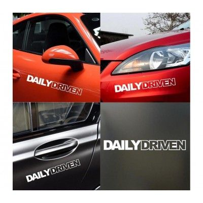 Sticker auto Daily Driven