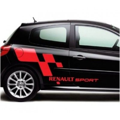 Ornament autocolant Renault