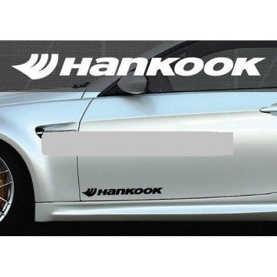 Set 2 buc. sticker auto lateral - Hankook