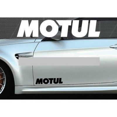Set 2 buc. sticker auto lateral - MOTUL