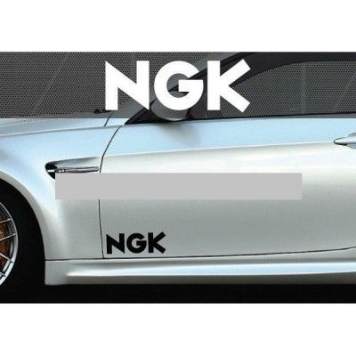 Set 2 buc. sticker auto lateral - NGK