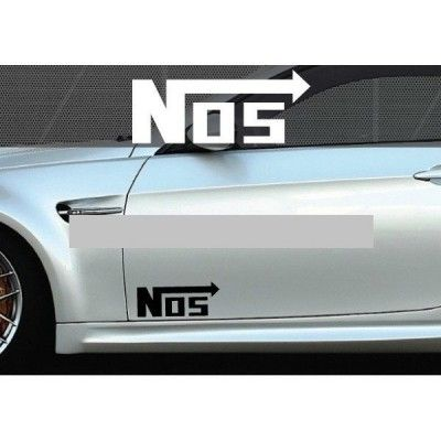 Set 2 buc. sticker auto lateral - NOS