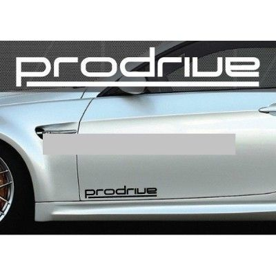 Set 2 buc. sticker auto lateral - PRODRIVE