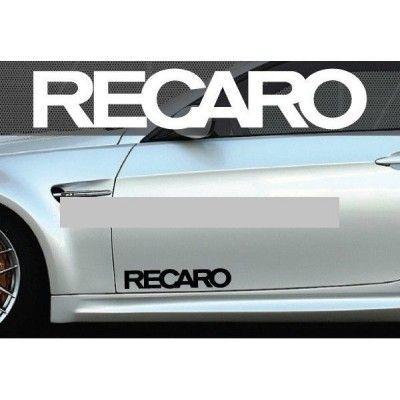 Set 2 buc. sticker auto lateral - RECARO