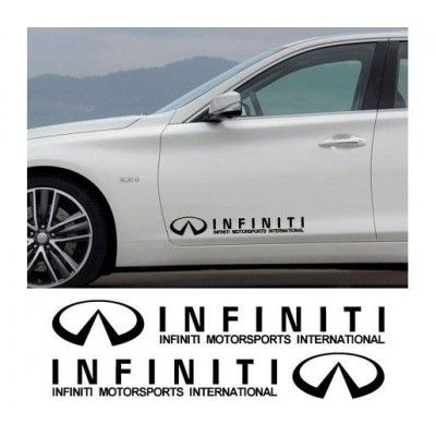Sticker auto laterale INFINITI