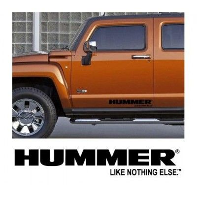 Sticker auto laterale HUMMER