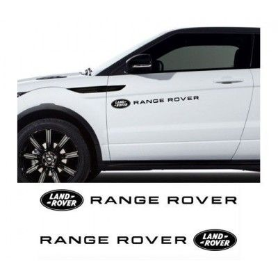 Sticker auto laterale LAND ROVER
