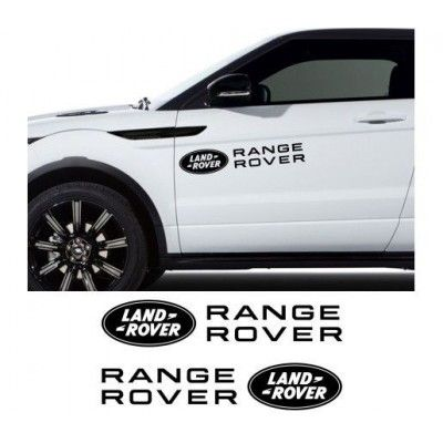 Sticker auto laterale LAND ROVER (v2)