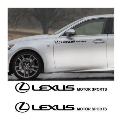 Sticker auto laterale LEXUS