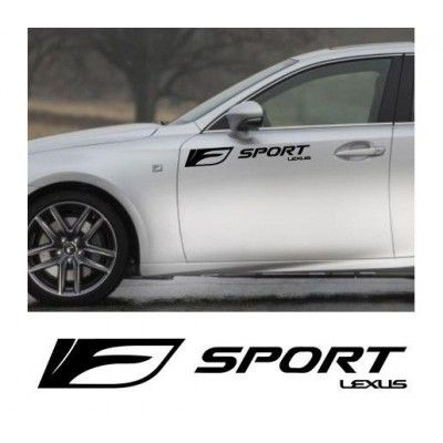 Sticker auto laterale LEXUS Sport