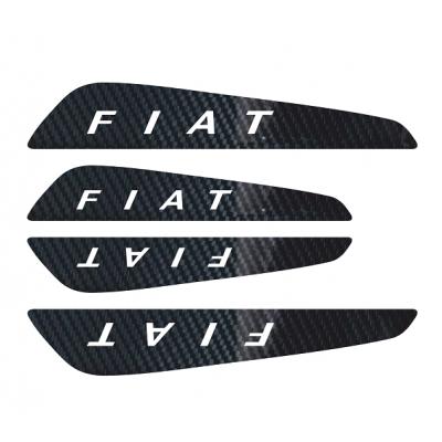 Set protectii usi Carbon 5D - Fiat