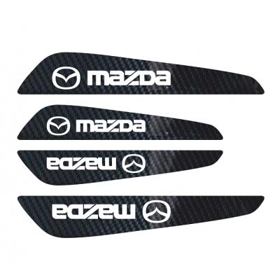 Set protectii usi Carbon 5D - Mazda