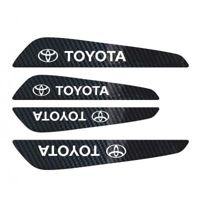 Set protectii usi Carbon 5D - Toyota