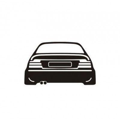 Stickere auto E36