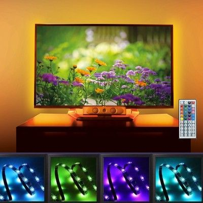Banda led pentru TV - RGB - 4X 50cm