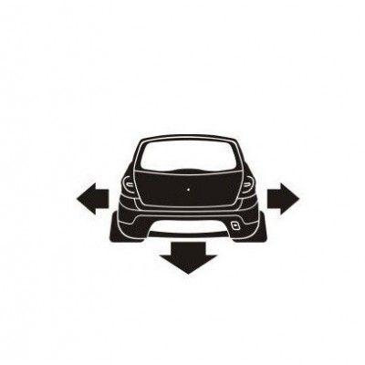 Stickere auto Sandero