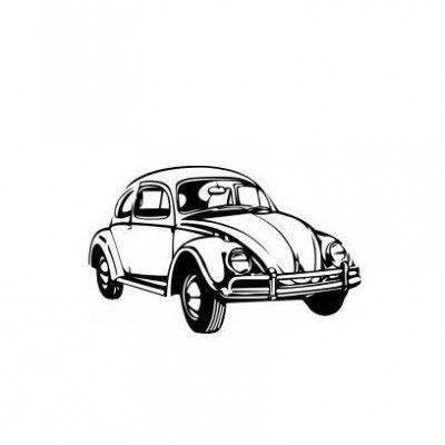 Stickere auto VW Beetle