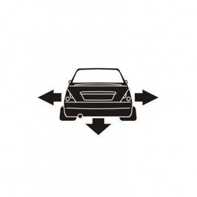Stickere auto Solenza low